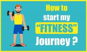 Start fitness journey banner
