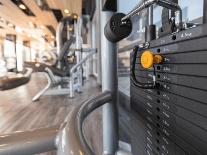 weight training machine